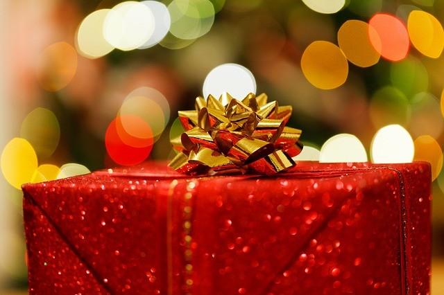 Ilustracja christmas present